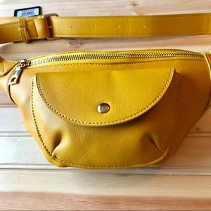BeCool Fanny Pac Mustard Yellow NWT